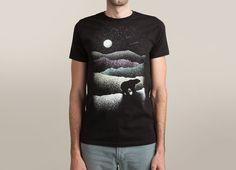 """Wandering Bear"" - Threadless.com - Best t-shirts in the world"