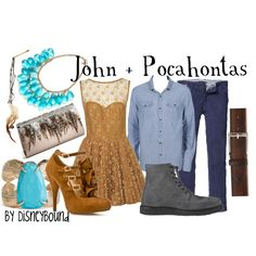 Here is a collection off of lalakay.polyvore.com inspired by the movie Pocahontas.