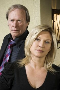 Dennis Waterman and Amanda Redman Amanda Redman, Pbs Tv, Bbc Tv Shows, Tv Detectives, People Of Walmart, Blonde Color, British Actors, Classic Tv