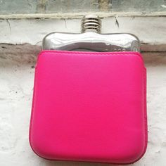 On Wednesdays we wear pink #meangirls #pink #wednesday #swigflasks #neon #london #hipflasks