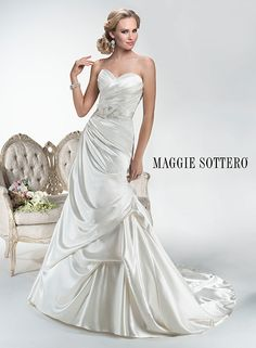 Hailey - by Maggie Sottero #AffairsbyBrittany Call 218-847-3788 for your appointment. contact@affairsbybrittany.com affarisbybrittany.com We would LOVE to help you find your PERFECT Wedding attire!