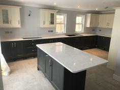 Kitchen Island, Quartz, Home Decor, Kitchens, Island Kitchen, Decoration Home, Room Decor, Interior Design, Home Interiors