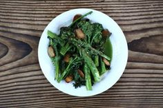 Broccolini with Garlic Chips and Coconut Pesto by @Mickey Trescott #AIPaleo #21DSD
