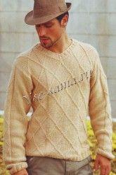 Classic sweater for men spoke Knitting Designs, Knitting Patterns, Knit Or Crochet, Hand Knitting, Knitwear, Men Sweater, Mens Fashion, Pullover, Sweaters
