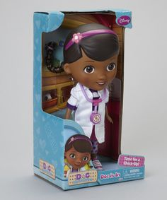 Take a look at this Doc McStuffins 'Doc Is In' Doll on zulily today!