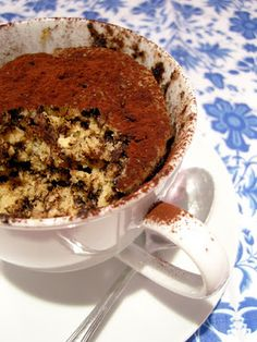 Ninas kleiner Food-Blog: Microwellen-Tassenkuchen - Kaffee  Spekulatius