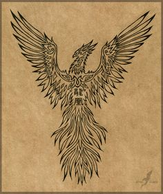 A sun tattoo design is a reflection of the rising phoenix tattoo designs, the suns' symbolic meaning in different cultures across the world. Phoenix Tattoo Sleeve, Rising Phoenix Tattoo, Small Phoenix Tattoos, Phoenix Tattoo Design, Tattoo Line, Phönix Tattoo, Libra Tattoo, Pictures Of Phoenix, Phoenix Images