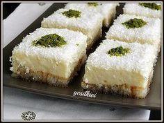 Etimek Dessert Recipe – Sherbet Dessert Recipes – Yummy Recipes - My CMS Yummy Recipes, Cake Recipes, Dessert Recipes, Yummy Food, Sorbet, Easy Cooking, Cooking Recipes, Gula, Middle Eastern Recipes