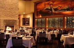 Kirby's Steakhouse in Southlake - Ask for Teddy, he'll make you feel at home-