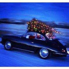 Santa Claus Porsche 356
