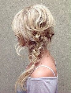 This fairytale braid is everything!