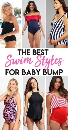 Swimsuits with your baby bump are just as cute and stylish as can be, and all can be found here! These bathing suits are just the cutest for summer time during pregnancy! Browse through here for the most fashionable maternity swimwear!