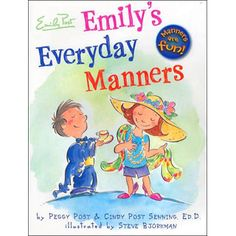$16.99 - In the first fully-illustrated children's book from The Emily Post Institute, kids 4-7 can read along and watch as young Emily and her best friend Ethan ride the school bus, romp on the playground, visit friends, and eat at restaurants—all while having fun and learning the importance of good manners. Illustrated by Steve Björkman.View more of I can read books here!