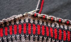 30 Pretty Picture of Colorwork Knitting Patterns Free . Colorwork Knitting Patterns Free How To Knit Fair Isle Patterns Tin Can Knits Fair Isle Knitting Patterns, Fair Isle Pattern, Sweater Knitting Patterns, Knitting Charts, Easy Knitting, Loom Knitting, Knitting Stitches, Intarsia Knitting, Afghan Patterns