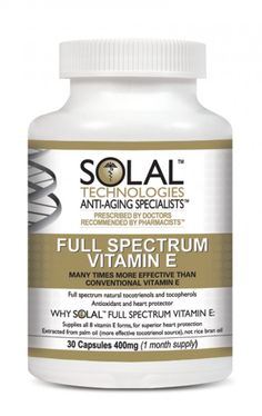 Full spectrum vitamin e