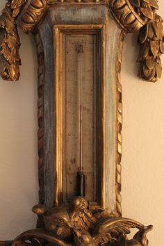 detail-Antique French Barometer