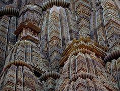 Cascading Roof Photo by Edie Kahn, Khajuraho