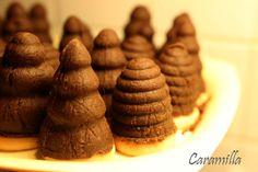 Vosí hnízda s čokoládou