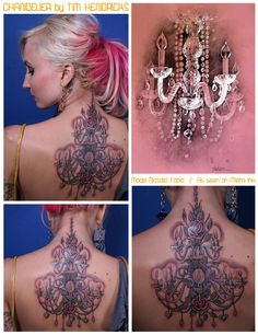 OMGGGG I've always LOOOVED chandeliers ever since Phantom of the Opera! I just never knew I wanted a chandelier tattoo until now! YES!