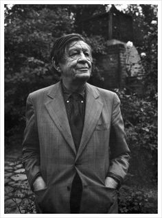 Wystan Hugh Auden Anglo-American poet, born in England, later an American citizen, and is regarded by many critics as one of the greatest writers of the 20th century. Photo  by Yousuf Karsh,