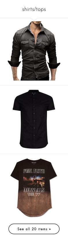 """""""shirts/tops"""" by llamapoop ❤ liked on Polyvore featuring men's fashion, men's clothing, men's shirts, men's t-shirts, tops, men, shirts, olive pattern, mens print shirts and mens camo t shirt"""