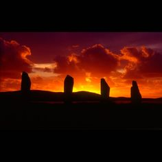 The Ring of Brodgar Orkney - an amazing picture that captures some of what this island has to offer.