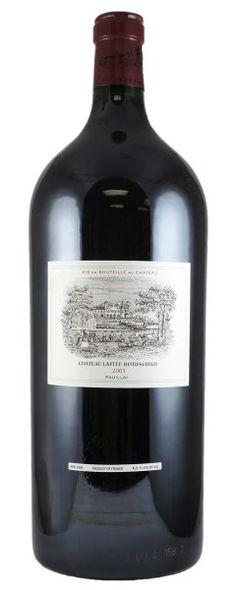 2003 Lafite-Rothschild. Type: Red Wine, Bordeaux Red Blends (Claret), Premier Cru (First Growth), 6.0ltr. Region: France, Bordeaux, Pauillac. 5.120$ (128.000 Kc)