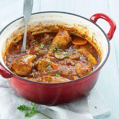 Dutch Oven Recipes, Meat Recipes, Pasta Recipes, Italian Recipes, Chicken Recipes, Cooking Recipes, Crockpot, Tasty, Yummy Food