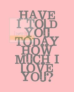 Items similar to How Much I Love You . Gifts for Mom // Yellow Gray // Nursery Play Room Wedding Marriage Graphic Typography Subway Art Poster Print on Etsy Love My Man, I Love Girls, All You Need Is Love, Gods Love, Love Of My Life, Told You So, I Love You Signs, Love Days, Love Hurts