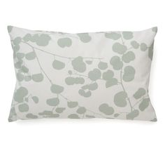 Cushion mint green leaves by LIMI Design | www.limi-living.de