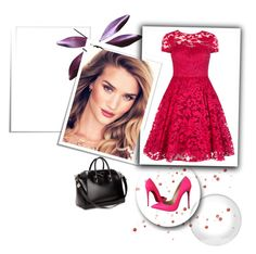 """""""dress"""" by eminajamakovic ❤ liked on Polyvore featuring Givenchy, Christian Louboutin and Ted Baker"""