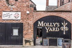 Molly's Yard Restaurant (Belfast) - one of our hidden gems, really worth the effort to find. Tiny, welcoming, and great food!