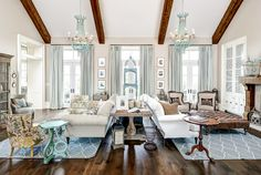 Living Room Furniture Layout. Two Seating Areas Living Room Furniture Layout. In a large living room, setting up two seating areas is a common way to tackle all that open space. Artisan Signature Homes.