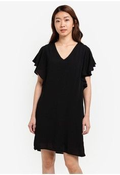 Wanita > Pakaian > Dress > Evening Dress|Summer Dress|Work Dress|Mini Dress > Fancy Frill Dress > Vero Moda