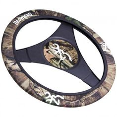 Camo and Browning Buckmark for your Truck's Steering Wheel Cover? We say - yes.