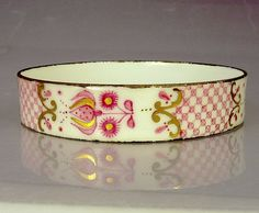 Vintage Arta Austria Enamel Bangle Bracelet by jujubee1 on Etsy