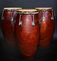 """""""my heart heart skips a beat"""" Blood Red Congas."""