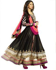 Designer Black Color Heavy Anarkali Suit :- http://www.sulbha.com/designer-black-color-heavy-anarkali-suit-p-9477.html