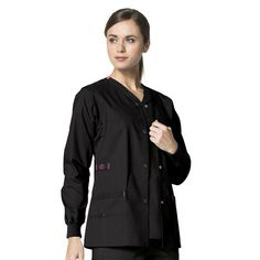 1f474d76d10 8108-WONDERFLEX BY WONDERWINK-SNAP JACKET (SIZES XS-3XL) Scrub Jackets