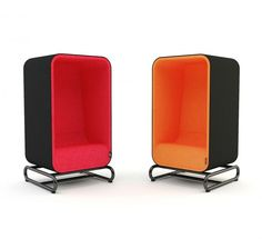 Fauteuil Box Lounger, par Loook Industries