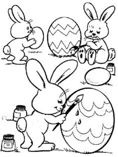 Keep Your Kids Entertained with Thousands of Printable Coloring Pages: Printable Easter Coloring Pages at Moms Who Think