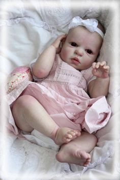 Precious Baban Reva Schick Noah Awake Now Reborn Baby Girl Emily | eBay