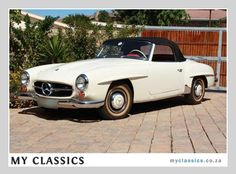1960 MERCEDES-BENZ 190 SL  classic car