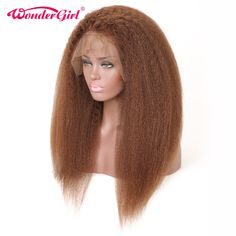 Glueless Lace Front Human Hair Wigs For Black Women Kinky Straight Hair Brazilian Hair Lace Front Wig Remy Cheap Human Hair, Human Hair Lace Wigs, Remy Human Hair, Kinky Straight Hair, Straight Lace Front Wigs, Wig Hairstyles, Straight Hairstyles, Hair Falling Out, Hair Styler