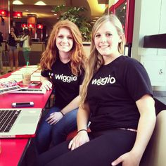 UnleashedPR members promoting Wiggio on campus!