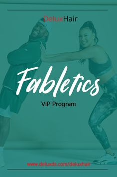 Check out DeluxHair's affiliate partner Fabletics VIP Program