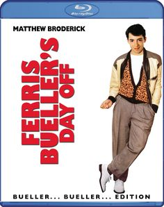Image result for ferris bueller blu ray
