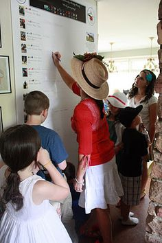 """Derby Party- Board to """"pick a pony"""" & winners circle for best hat, etc..."""
