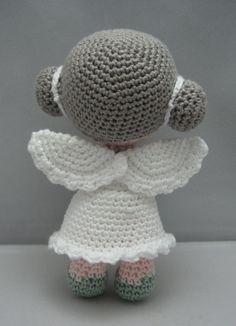 Angelo fiore download immediato Amigurumi bambola di NenneDesign