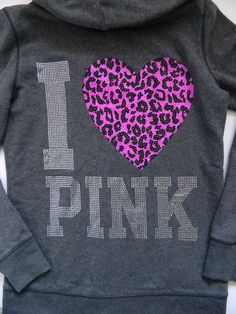 I <3 PINK & I <3 this hoodie!!!